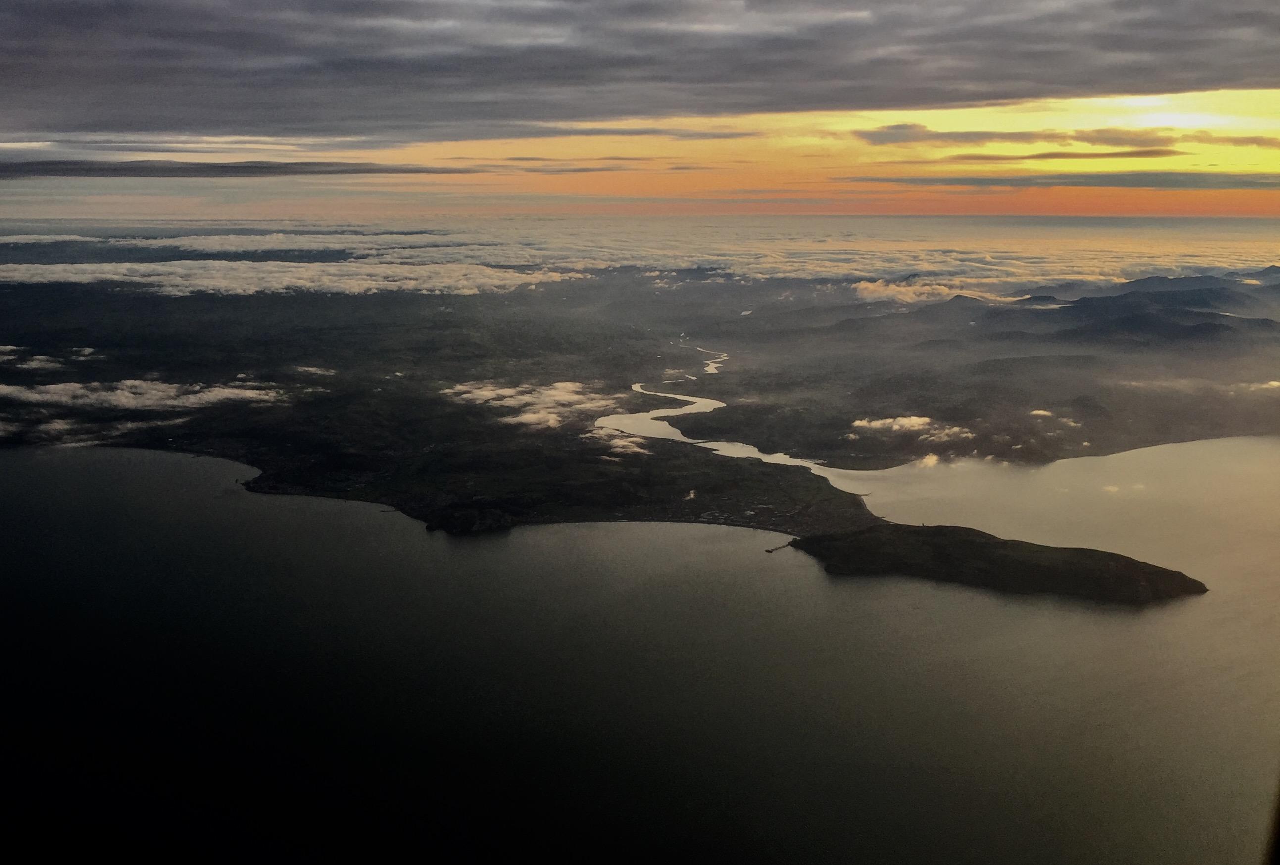 Llandudno from 2,000 Feet